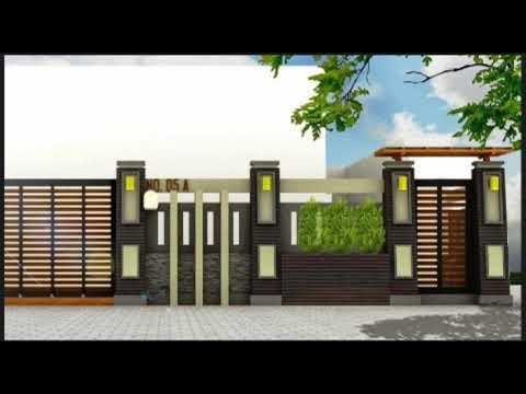 Aneka Design Pagar Rumah Minimalis Modern