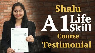 Shalu Devi A1 Life Skills Course Testimonial at IELTS Learning
