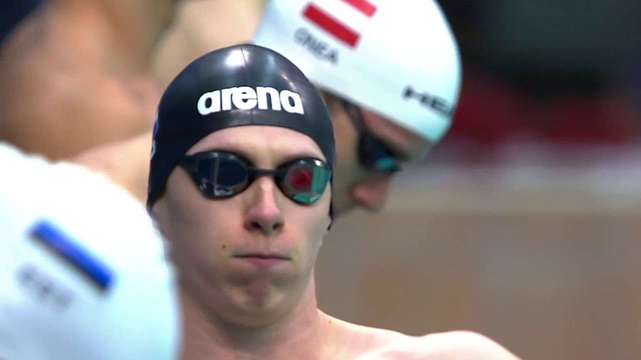 Men's 100m Breaststroke SB8 Heat 1 | 2018 World Para Swimming Allianz European Championships