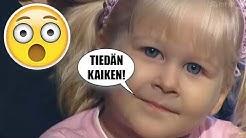 Tämä 3-vuotias tyttö teki jotain USKOMATONTA