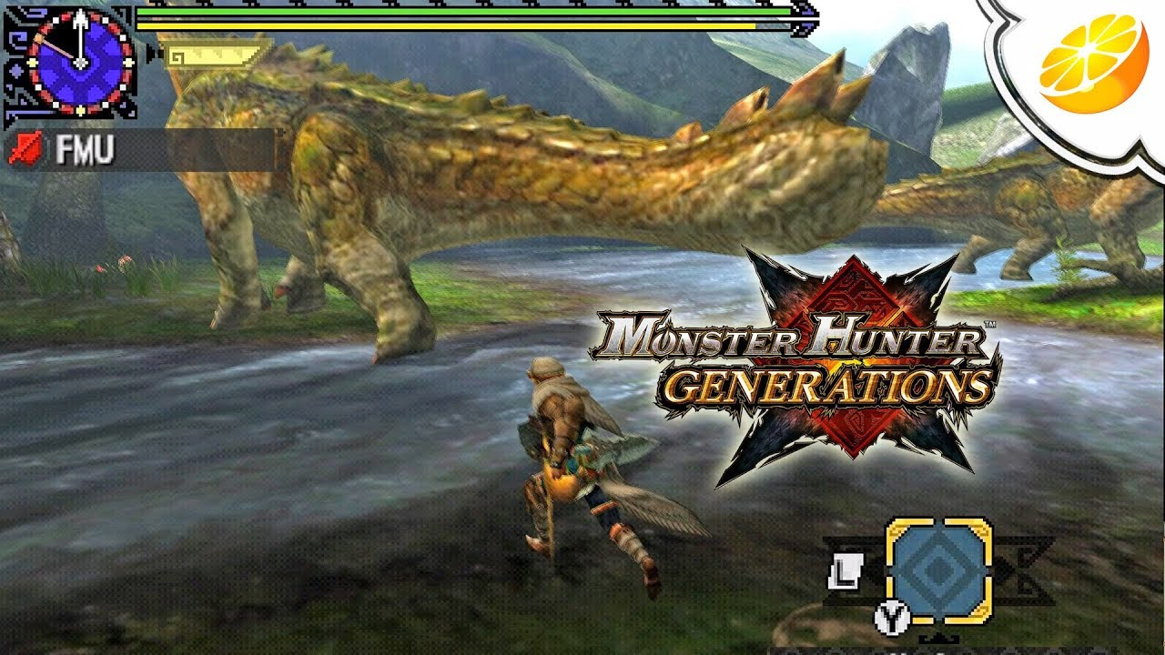 Monster Hunter Generations | Citra Emulator Canary 439 (GPU Shaders,  Playable!) 1080p | Nintendo 3DS