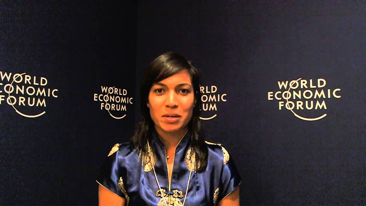 Rohini Rau - World Economic Forum on India 2012 social media corner