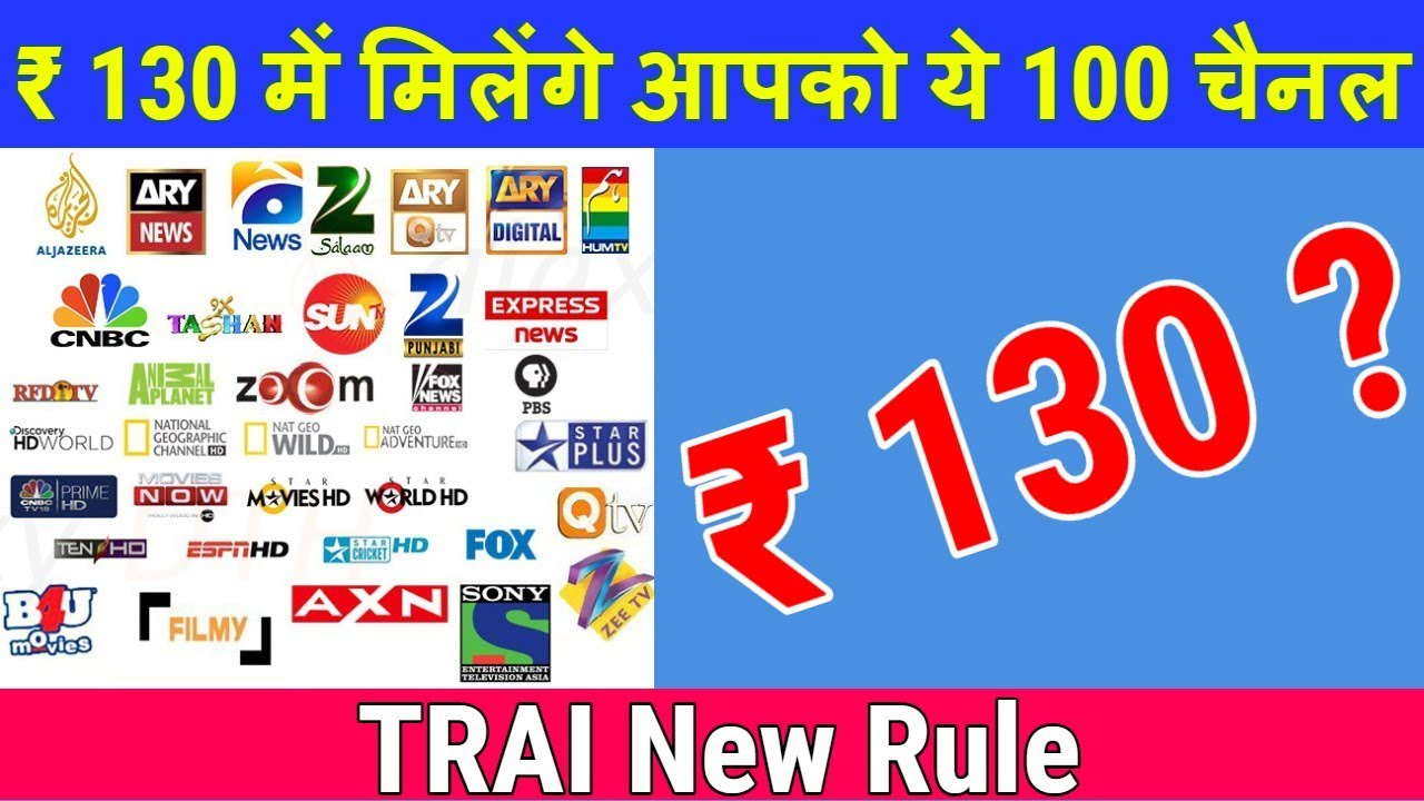 Trai New Rules For Dth And Cable Tv Channel Price List Explained