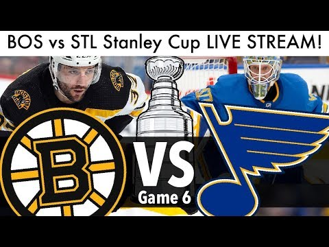 Bruins Vs Blues Stanley Cup Final Game 6 LIVE STREAM! (NHL/Hockey Playoffs Reaction & Talk 2019)