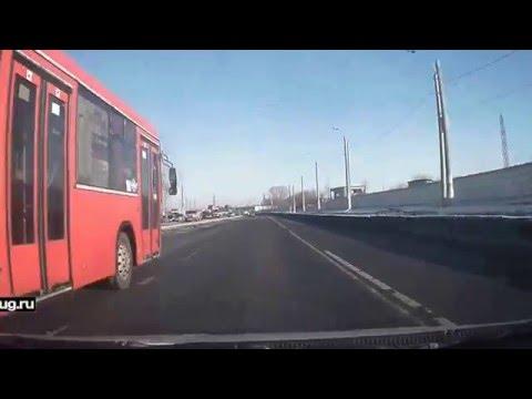 Маршрутные автобусы Казани ездят со скоростью 90 км/ч