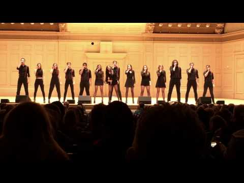 Distilled Harmony: ICCA Semifinals 2017