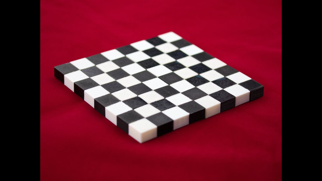 Tinkercad Tutorial -- Foldable Chessboard