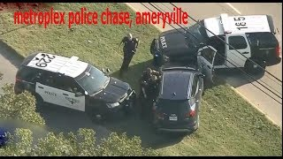 metroplex police chase, ameryville
