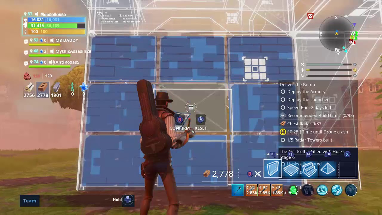 how to build radar towers fortnite save the world - fortnite how to build radar