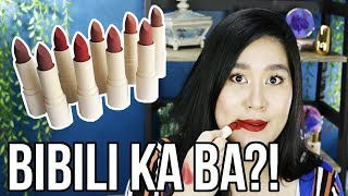 SUNNIES FACE FLUFFMATTE LIPSTICKS ( The Truth about the HYPE ) | Kris Lumagui