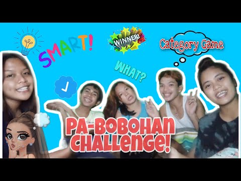 Pabobohan Challenge | Category Game With Friends | (Laughtrip to Promise) | Waknkts Vlog