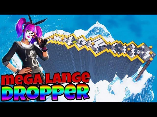 MEGA LANGE DROPPER - Fortnite met Don & Link