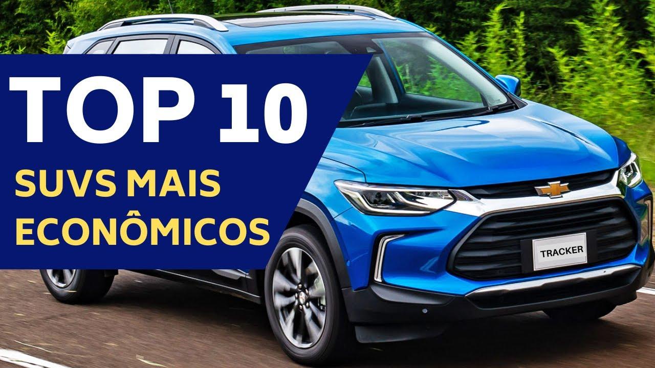 SUVS COMPACTOS MAIS ECONÔMICOS DE 2021 – TOP 10