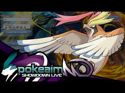 Pokemon ORAS OU Showdown Live: The Birds and the Moth?
