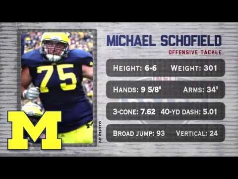 Michael Schofield - 2014 NFL Draft profile