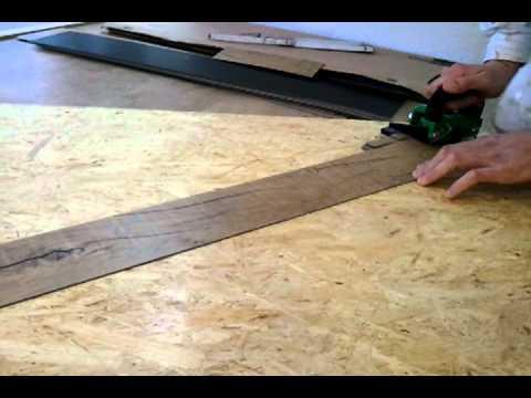 Linocut als streifenschneider für vinyl laminat youtube