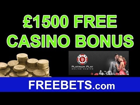 How To Claim £1,500 Free Casino Bonus With Platinum Play Casino