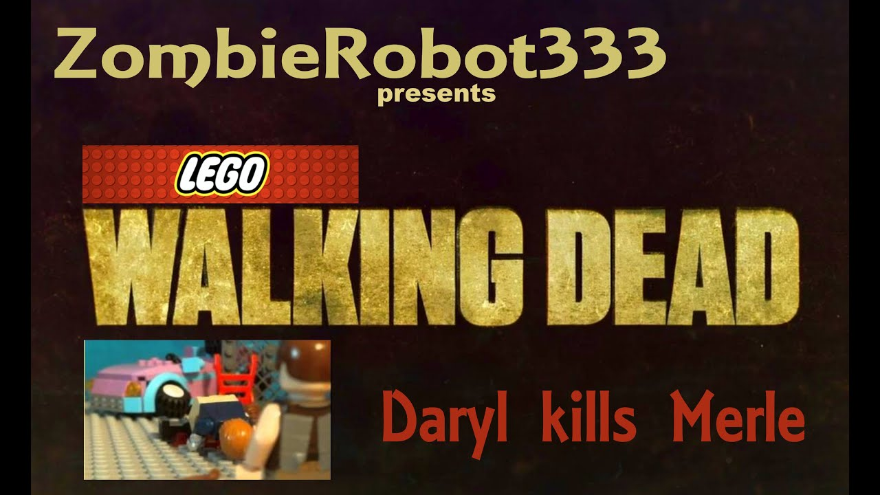 Walking dead lego daryl the walking - Lego Walking Dead Daryl Kills Merle