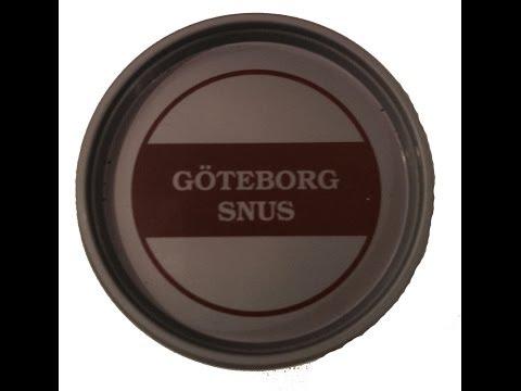 Göteborg Snus von Scandinavian Tobacco group I Snusfreak