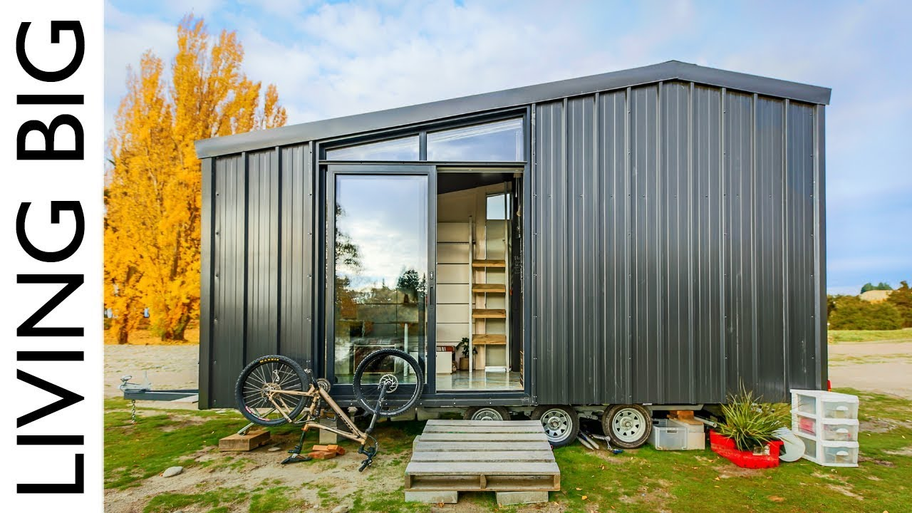 Tiny Home Designs: Architect Builds Incredible Off-The-Grid Tiny Home To
