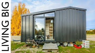 Architect Builds Incredible Off-The-Grid Tiny Home To Avoid High House Prices
