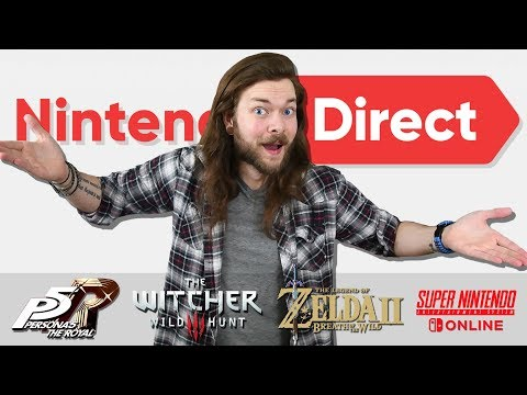 WOW! That Secret Nintendo Direct Was The BEST YET!