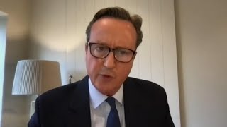 video: Politics latest news: It's absurd to suggest I could pocket £60m from Greensill, says David Cameron - watch live