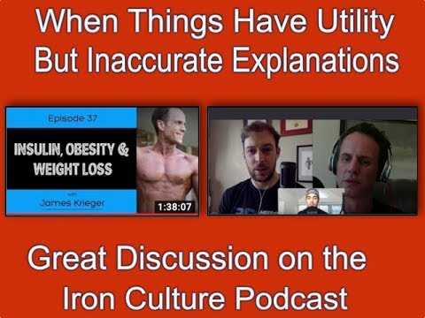 Utility With Inaccurate Explanations...Reflections From the Iron Culture Podcast