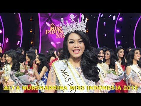 Selamat Alya Nurshabrina Terpilih Sebagai Miss Indonesia 2018