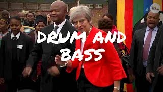 Theresa May & Friends Dancing To Drum and Bass