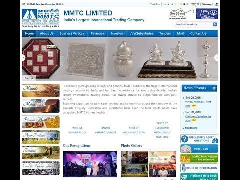Review of MMTC Ltd