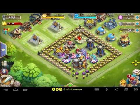 Castle Clash (Kale Savaşı) New Hero-Kahraman çıkarma HACK-HİLE I FBG#4