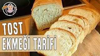 Tost ekmegi tarifi-Yumusacik pamuk gibi sütlü tost ekmegi nasil yapilir-Hatice Mazi