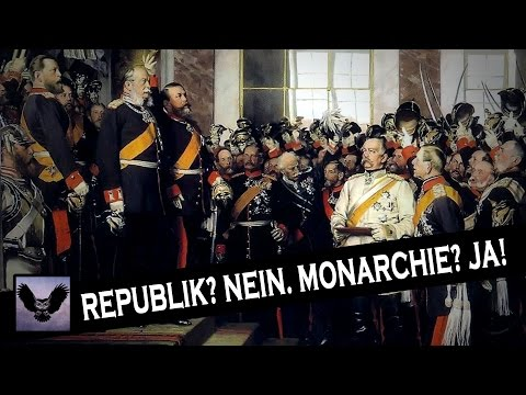 Republik? Nein. Monarchie? Ja!