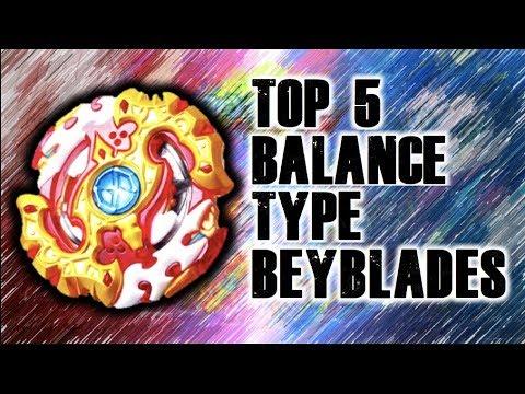 My Top 5 Favorite Balance Type Beyblades! | Beyblade Burst Ranking