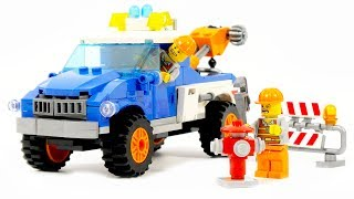 Enlighten Brick 1109 road wrecker - Speed Build
