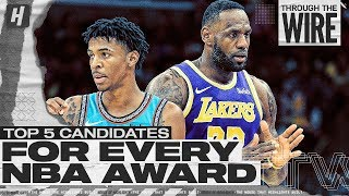 Top 5 Candidates For Every NBA Award | Through The Wire Podcast