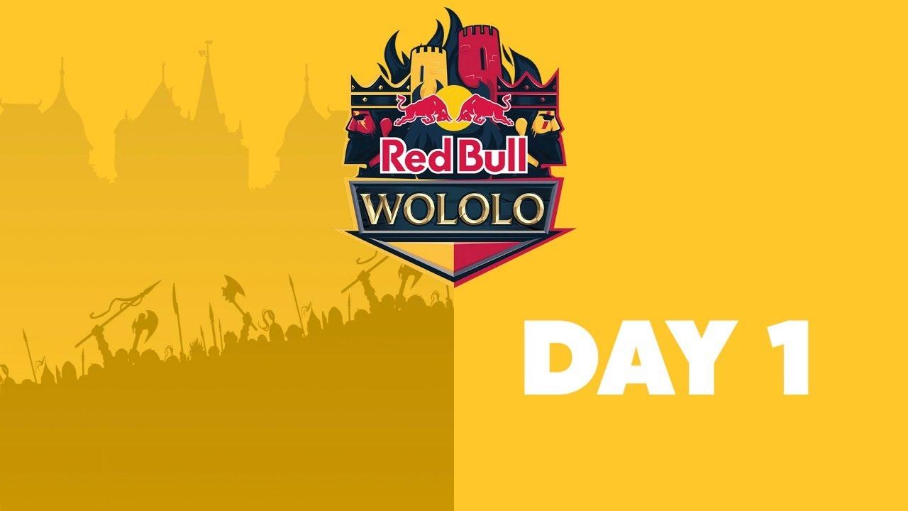 Red Bull Wololo – AoE2:DE Tournament Day 1