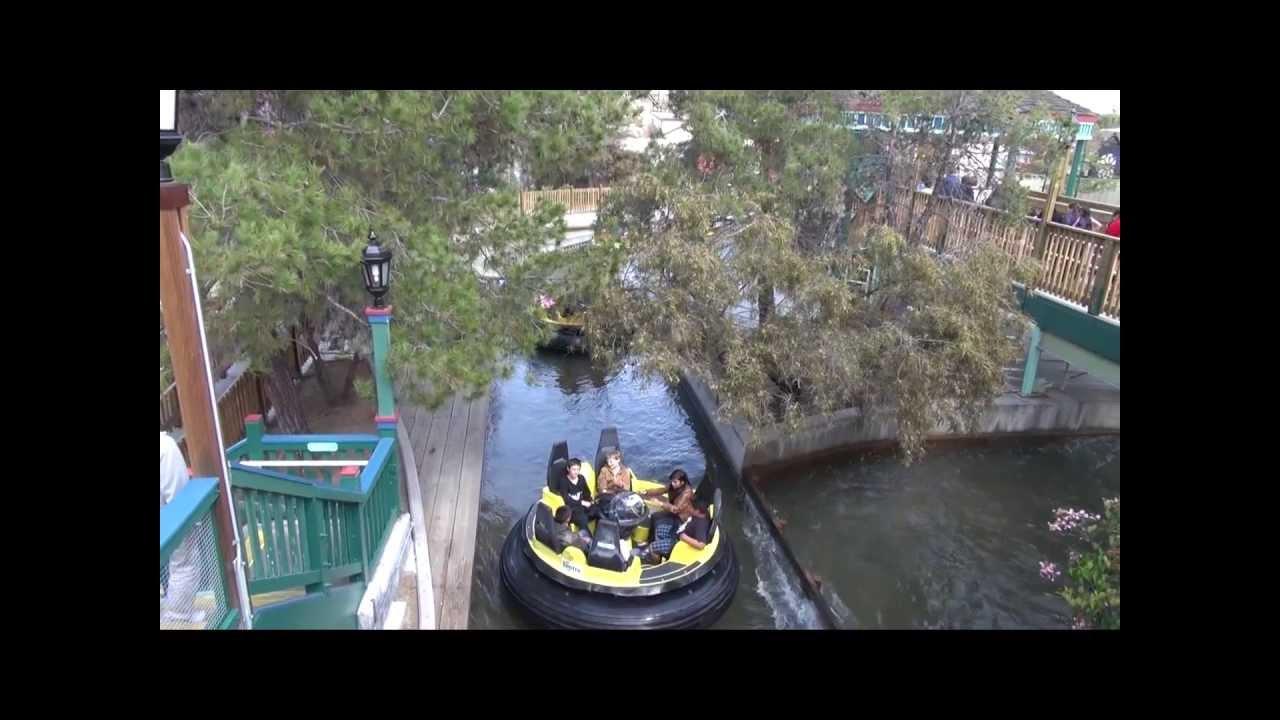 Bigfoot Rapids water ride at Knotts Berry Farm  HDThrillSeeker  YouTube