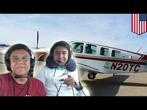 Teen pilot Haris Suleman on around-the-world-trip: Haris Suleman crashes off American Samoa island