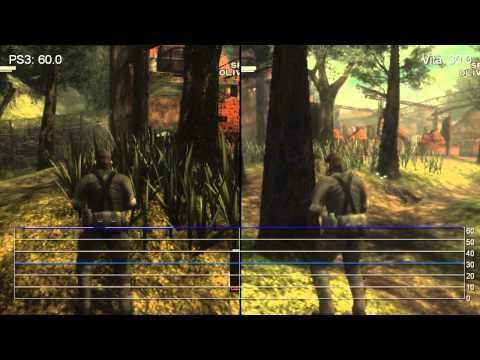 Metal Gear Solid 3: PS Vita vs. PS3...