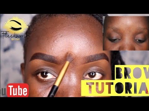 HOW TO: CHEAP EYEBROW TUTORIAL USING PENCIL | DETAILED ...