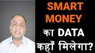 Smart Money Futures and Options Data for Analysis (Hindi)