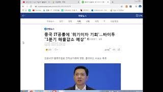 [중국기업 분석] 알리바바, 텐센트, 바이두 12회
