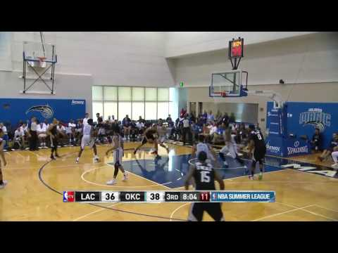 Los Angeles Clippers vs Oklahoma City Thunder | July 3, 2016 | NBA Orlando Summer League 2016