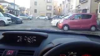 スマフォ片手に持って、駐車場1周しました。 カメラアングルキープして...