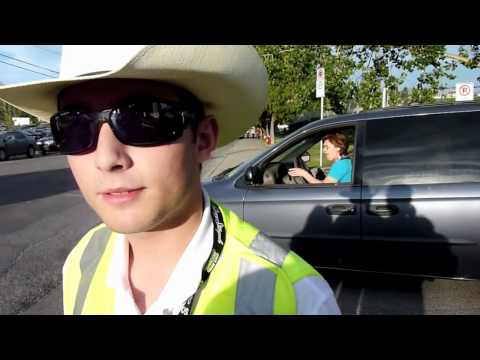 Calgary Stampede Tows Cars music video - Can