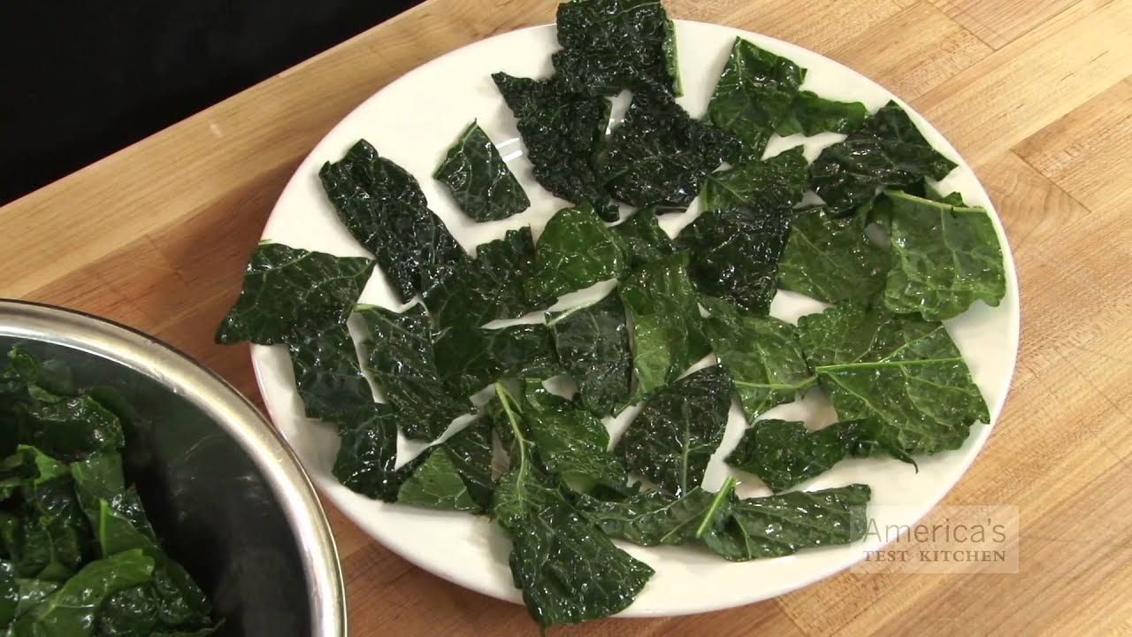 Super Quick Video Tips How To Make Kale Chips In The Microwave You