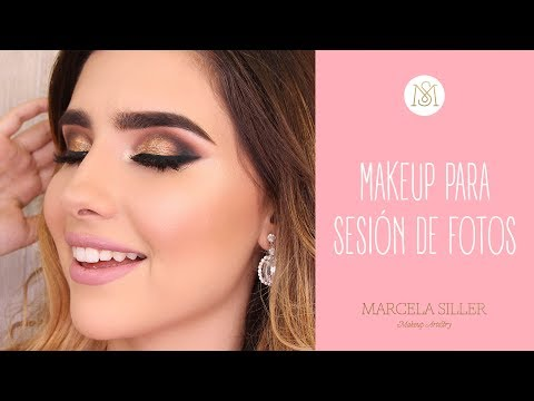 MAKE UP PARA SESIÓN DE FOTOS | Marcela Siller
