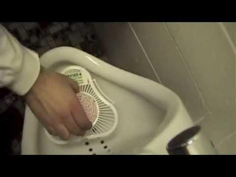 Reserve girl licks toilet